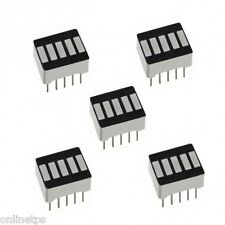 10Pc of 5 Bar Graph LED Module-Green Color for Electronics,Arduino,RaspberryPi