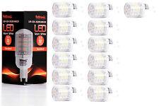 13X G9 LED Lampe von Seitronic mit 3 Watt, 240LM und 48LEDs - Warm weiß 2900K