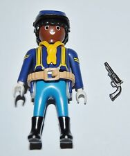 36178 Buffalo Soldier, 9th/10th US cavalry ACW 1870 Cabo CUSTOM playmobil