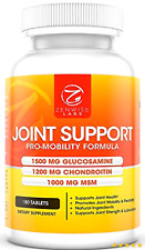 Glucosamine Sulfate 1500mg + Chondroitin + MSM - Extra Strength Joint Pain...