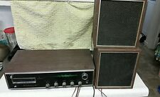 Vintage arvin 8-Track/AM/FM STEREO RECEIVER W/Speakers