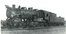 LL018 RP 1955 CB&Q BURLINGTON RAILROAD LOCO #545 CENTRALIA IL