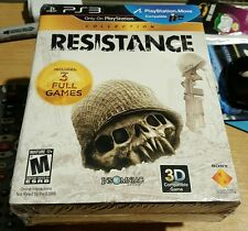 RESISTANCE COLLECTION 3 FULL GAMES FALL 2 3 PS3 RETAIL FACTORY SEALED BRAND NEW