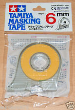 Tamiya 87030 Masking Tape 6mm Width, 18m Length, for RC Body Shells, NIP