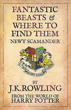 Fantastic Beasts and Where to Find Them by J. K. Rowling (Paperback, 2009) NEW