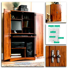Sauder Computer Desk Storage Furniture Armoire Home Office Workstation Hutch NEW