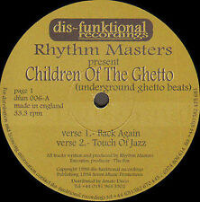 RHYTHM MASTERS  Children Of The Ghetto (Underground Ghetto Beats)  DisFunktional