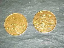 1980 Norris Weese Denver Broncos Gold Doubloon Football Coin