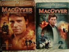 New Sealed MacGyver: The Complete Seasons One and Two Dvd Richard Dean Anderson
