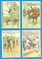 Old Calabar cigarette/trade cards - SPORTS AND GAMES
