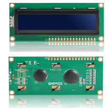 New Blue IIC I2C TWI 1602 16x2 Serial LCD Module Display for Arduino TR