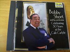 BOBBY SHORT AND HIS ORCHESTRA CELEBRATING 30 YEARS AT THE CAFE CARLYLE CD TELARC