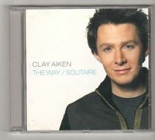 (FZ650) Clay Aiken, The Way / Solitaire - 2004 CD