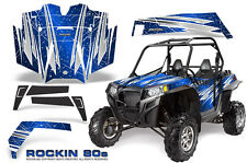 POLARIS RZR 900 XP 900XP & PRO ARMOR DOOR GRAPHICS KIT CREATORX ROCKIN 80s BL