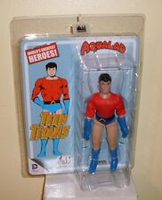 """Retro 8"""" Aqualad Teen Titans World's Greatest Heroes by Figures Toy Co MOC"""
