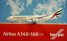 Herpa Wings 1:500  Airbus A340-300 Emirates Airways A6-ERM  527415