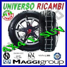 CATENE DA NEVE MAGGI TRAK 4X4 e SUV VELOCI DA MONTARE PER PNEUMATICI 7/8 R17.5