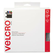 Velcro Sticky-Back Hook and Loop Fasteners in Dispenser 3/4 Inch x 30 ft. Roll