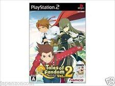 Used PS2 Namco Tales of Fandom Vol. 2 Tia  SONY PLAYSTATION JAPAN IMPORT