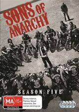 Sons Of Anarchy : Season 5 (DVD, 2014, 4-Disc Set) R/4
