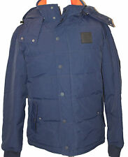 AUTH $325 Lacoste Men's Blue Down Jacket BH2867 XL