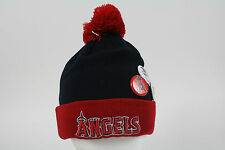 New Era Cap Beanie Los Angeles Angels of Anaheim Red-Black Authentic Original