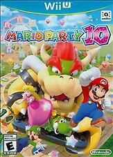 MARIO PARTY 10 * NINTENDO Wii U * BRAND NEW FACTORY SEALED!