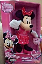 Fisher Price Minnie Mouse Boutique Singing Minnie Plush N0514 phases & melody