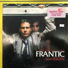 ENNIO MORRICONE LP Frantic Soundtrack (VG+) ost harrison ford