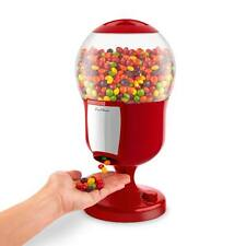 Rojo Magic Snack Dispensador Candy Sweet Tuerca Gumball Dispensador Expendedor