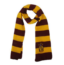 Harry Potter Gryffindor House Cosplay Costume Soft Warm Wool Knit Scarf Wrap