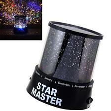 Romantic LED Cosmos Master Starry Night Sky Projector Lamp Star light Kids Gift