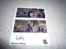 PETER ROY  signed Autogramm In Person 20x25 cm JAMES BOND 007 SAG NIEMALS NIE