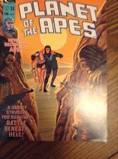 planet of the apes comic magazine #5