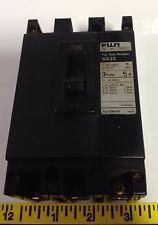FUJI ELECTRIC 5A 3-POLE AUTO BREAKER SA33 41-16035