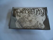 NEW Execration Excreting Guts VINTAGE 1991 TAPE CASSETTE C23 DEATH METAL MUSIC