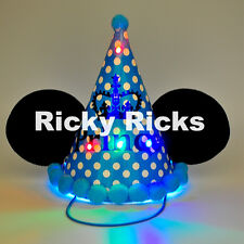 Mickey Mouse Ears Light Up Party Hat Cone Kids Favors Birthday Party Supplies
