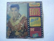 ELVIS PRESLEY BLUE HAWAII red spot rca RARE LP RECORD vinyl 1961 ENGLAND ex