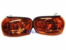 For Subaru Impreza GC8 WRX STI 97-00 Side Marker Corner Light Lamp Crystal Amber