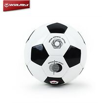 WINMAX Train Soccer Ball Official Size 4 Machine Stiched Champions Football Ball