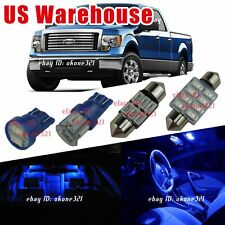 11-pc Pure Deep Blue LED Light Interior Map Bulb Package Kit For 04-12 Ford F150