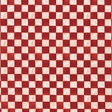 Kaufman Down on the Farm AWG 15773 3 Red Check Cotton Fab BTY
