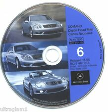 Mercedes-Benz Navigation CD #5 for COMAND Ver 11/05 NAVTEQ - KY, WV, IN, MY