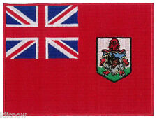 """Bermuda (embroidered) Country Flag Patch 4 3/4""""x 3 1/2"""" (12 x 9CM) approx"""