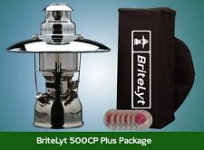 BriteLyt/Petromax USA 500CP Lantern with Reflector & Case - Lifetime Warranty