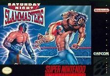 ***SATURDAY NIGHT SLAM MASTERS SNES SUPER NINTENDO GAME COSMETIC WEAR~~~