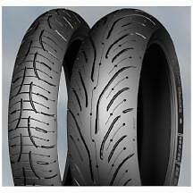Michelin Pilot Road 4 GT Tire Set, Rear 190/55ZR-17 And Front 120/70ZR-17