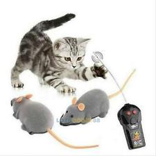 Pet Cat Dog Wireless Remote Control RC Rat Mouse Funny Toy Doggy Playmate Toys