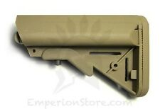 BOLT AIRSOFT Crane stock Tan AEG Airsoft Softair M4 GBB EBB