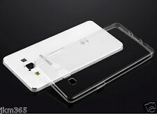 Transparent Soft Silicon TPU Back Case Cover For Samsung Galaxy Mega 5.8